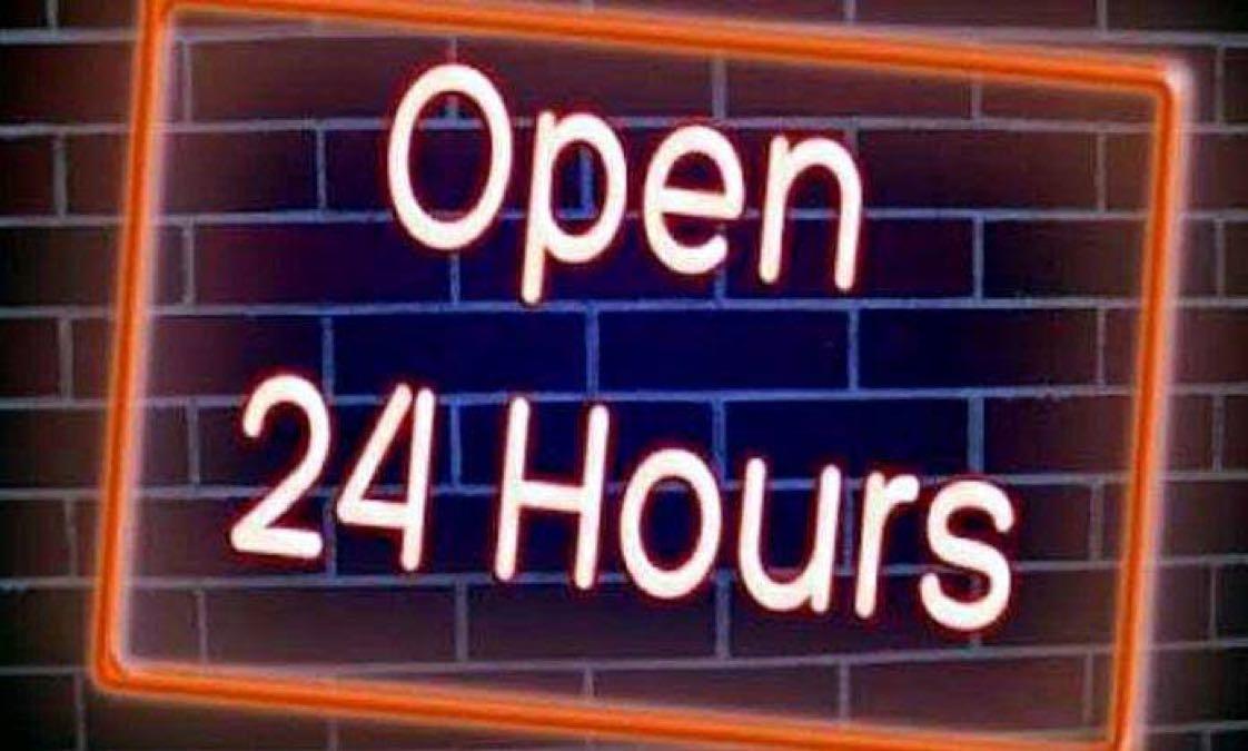 Untuk bisnis yang buka 24 jam, maka jam kerja dibuat menjadi 3 shift, di mana shift pertama bertugas pukul 07.00 – 15.00 WIB, shift kedua bertugas pukul 15.00 – 23.00 WIB, dan shift ketiga pukul 23.00 – 07.00 WIB, dan khusus untuk shift ketiga yang bertugas hanyalah karyawan pria saja.