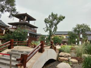 berikut saya tambahkan suasana di Fengbin Water Town